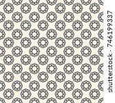 seamless pattern with gemstones ...   Shutterstock . vector #746199337