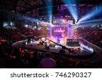 saint petersburg  russia  ... | Shutterstock . vector #746290327