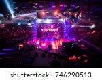 saint petersburg  russia  ...   Shutterstock . vector #746290513