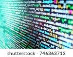 information technology website...   Shutterstock . vector #746363713