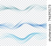 abstract background of blue... | Shutterstock .eps vector #746393173