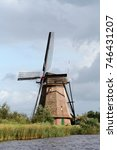 netherlands south holland ... | Shutterstock . vector #746431207