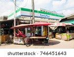 samut prakan  thailand  october ... | Shutterstock . vector #746451643