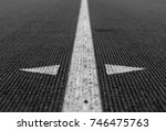 abstract image of track and... | Shutterstock . vector #746475763