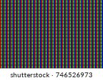 rgb screen dots seamless