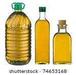 olive oil bottles | Shutterstock . vector #74653168
