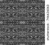 ethnic design. striped... | Shutterstock . vector #746626063