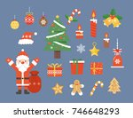 christmas illustration | Shutterstock .eps vector #746648293