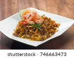 char kway teow.   | Shutterstock . vector #746663473