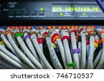 internet connect with lan... | Shutterstock . vector #746710537