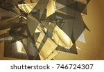 beautiful gold illustration...   Shutterstock . vector #746724307