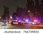 los angeles  oct 31  many... | Shutterstock . vector #746739853