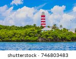 the iconic elbow reef... | Shutterstock . vector #746803483