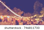 vintage tone blur image of ... | Shutterstock . vector #746811733