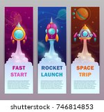 Vertical Space Banners Set....