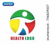 health logo 4   Shutterstock .eps vector #746829007
