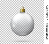 vector realistic transparent... | Shutterstock .eps vector #746839597