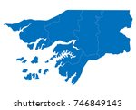 map of guinea bissau. high...   Shutterstock .eps vector #746849143