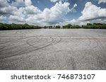 outdoor  parking   lot | Shutterstock . vector #746873107