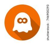 boo icon | Shutterstock .eps vector #746900293
