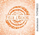 free ebook abstract orange...