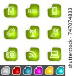 modern set of design elements.... | Shutterstock . vector #747074833