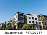 real estate property in playa... | Shutterstock . vector #747103357
