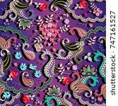 bright multicolor vector... | Shutterstock .eps vector #747161527