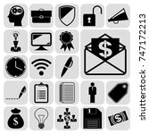 set of 22 business icons....