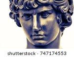 Ancient Male Statue Of Mercury...