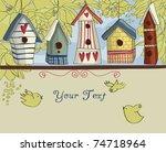 Birdhouses  Horizontal...