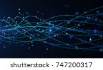 abstract star dust particle... | Shutterstock . vector #747200317