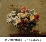 Summer Flowers  By Henri Fanti...