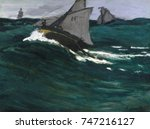 The Green Wave  By Claude Mone...