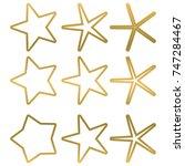 star   vector icon star icon...   Shutterstock .eps vector #747284467