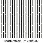 vector seamless pattern.... | Shutterstock .eps vector #747286087