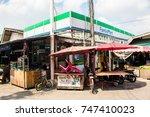 samut prakan  thailand  october ... | Shutterstock . vector #747410023