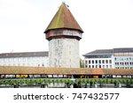 lucerne  switzerland  october... | Shutterstock . vector #747432577