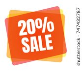 special offer sale tag.... | Shutterstock . vector #747432787