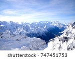 beautiful view from top of... | Shutterstock . vector #747451753