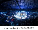 saint petersburg  russia  ... | Shutterstock . vector #747463723