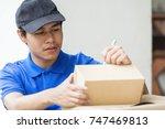 advertising  business ...   Shutterstock . vector #747469813