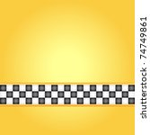 Square Taxi Frame  Vector...
