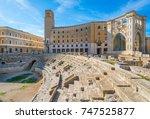 Roman Amphitheatre In Lecce ...
