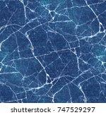 blue background worn denim...   Shutterstock . vector #747529297