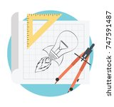 prototyping vector  business...   Shutterstock .eps vector #747591487