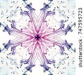 Abstract Colorful Kaleidoscopi...
