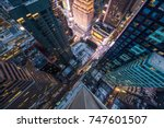 new york  usa   10 may 2017  ... | Shutterstock . vector #747601507