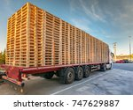 truck transporting a european