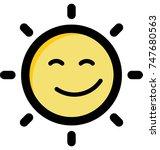 be shine graphic illustration. ...   Shutterstock .eps vector #747680563